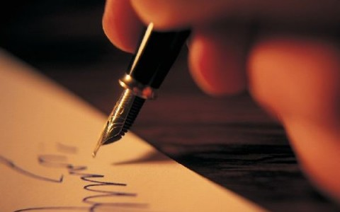 Signature --- Image by © Royalty-Free/Corbis