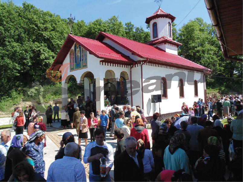 Biserica sfintita la Balesti