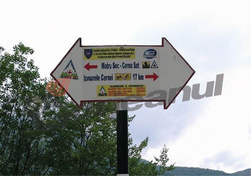 marcare trasee turistice