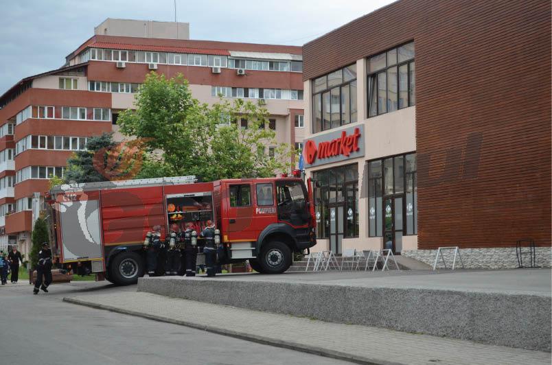 simulare incendiu hotel