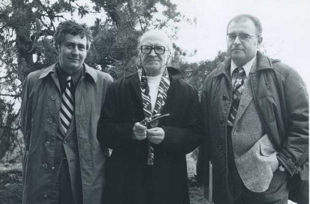4.Matei Calinescu, Mircea Eliade si Virgil Nemoianu -    Paris,1978.