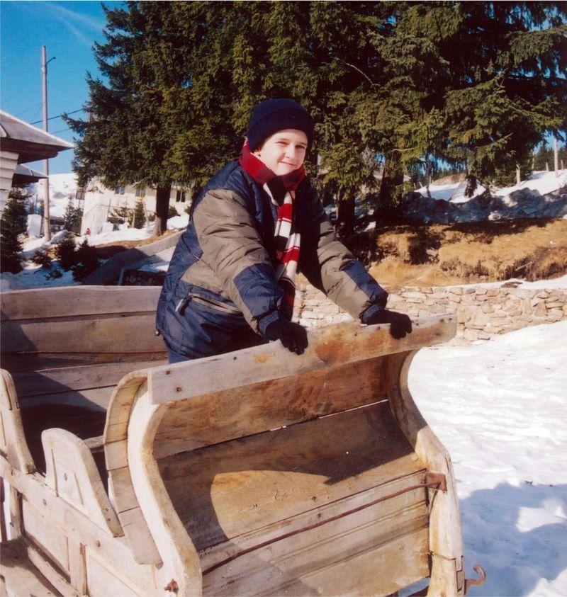 ninge peste amintiri - Traian in sanie