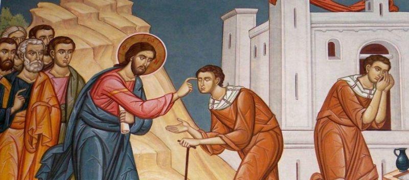 1 Duminica vindecarii orbului din nastere